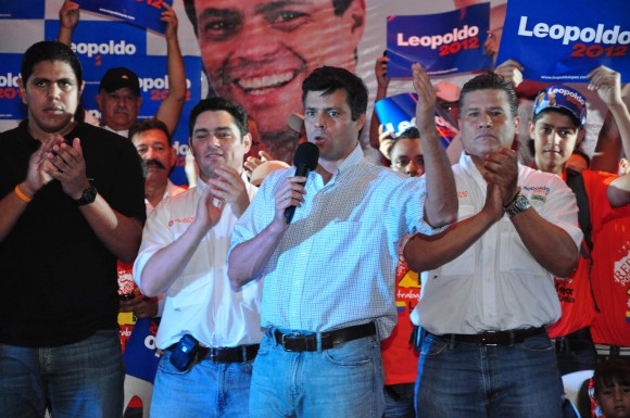 Leopoldo López en el Edo. Trujillo