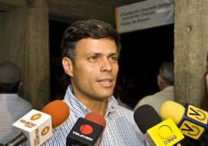Leopoldo Lpez en la Proyeccin del documental &quot;Voluntad y Paz&quot;