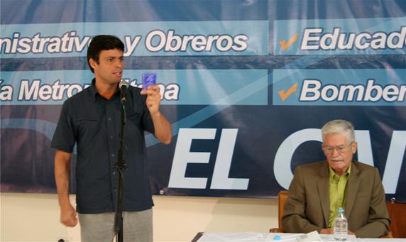 Leopoldo López. Rebelde con causa