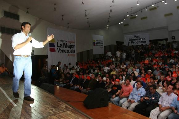 Leopoldo López :: La Mejor Venezuela :: Mérida