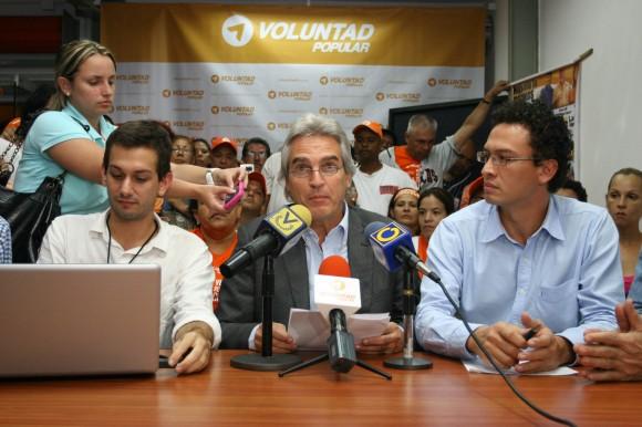 Alejandro Plaz :: Elecciones Abiertas de Voluntad Popular