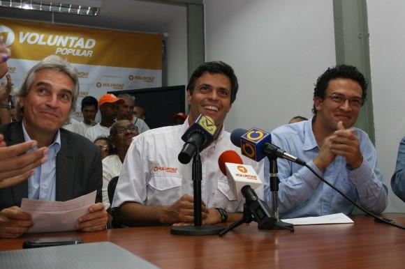 Leopoldo López ::Elecciones Abiertas de Voluntad Popular