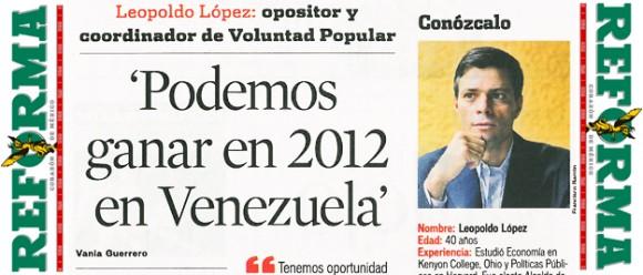 Leopoldo López :: Diario Reforma