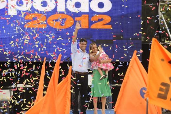 Leopoldo López :: Lanzamiento candidatura