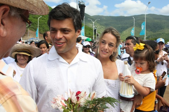 Leopoldo López :: Virgen del Valle