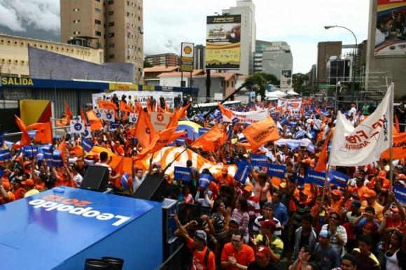 Leopoldo López :: Lanzamiento de candidatura presidencial