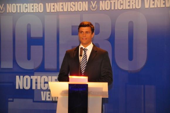 Leopoldo López en Segundo Debate Primarias
