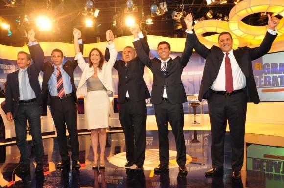 Leopoldo López en segundo Debate Presidencial