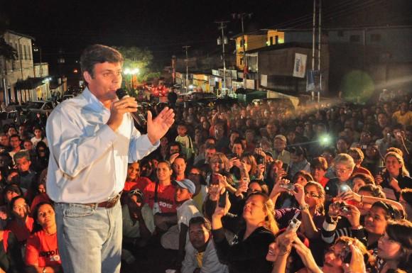 Leopoldo López en la Asamblea de Caripe, estado Monagas