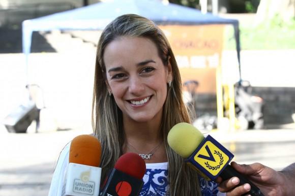 Lilian Tintori en su petición pública de deseos por Venezuela
