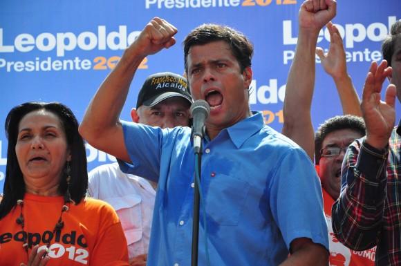 Leopoldo López en sus declaraciones en Guanare, estado Portuguesa