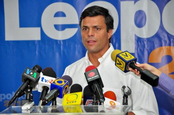 Leopoldo López fijando postura sobre la visita al país del Presidente de Irán Mahmud Ahmadinejad
