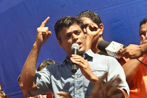 Leopoldo López en Guasdualito