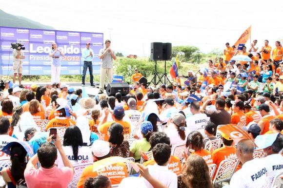 Leopoldo López, Fabiola Colmenarez y Juan Guaidó construyendo El Mejor Vargas para La Mejor Venezuela