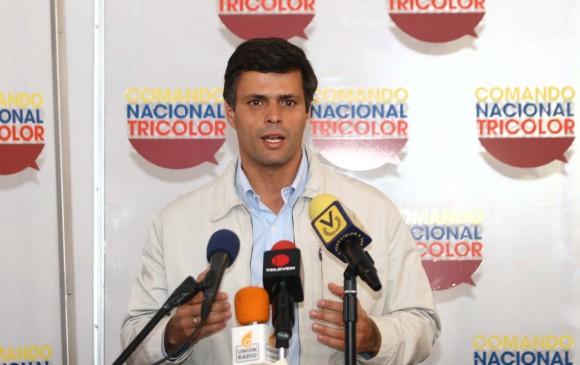 Leopoldo López, Coordinador Nacional del comando Tricolor