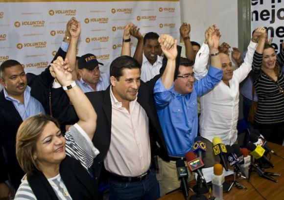 Candidatos de VP se comprometieron a trabajar duro para consolidar el triunfo de Henrique Capriles el próximo 7 de octubre